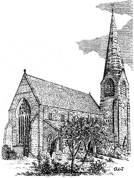 Wainwright sketch of St James